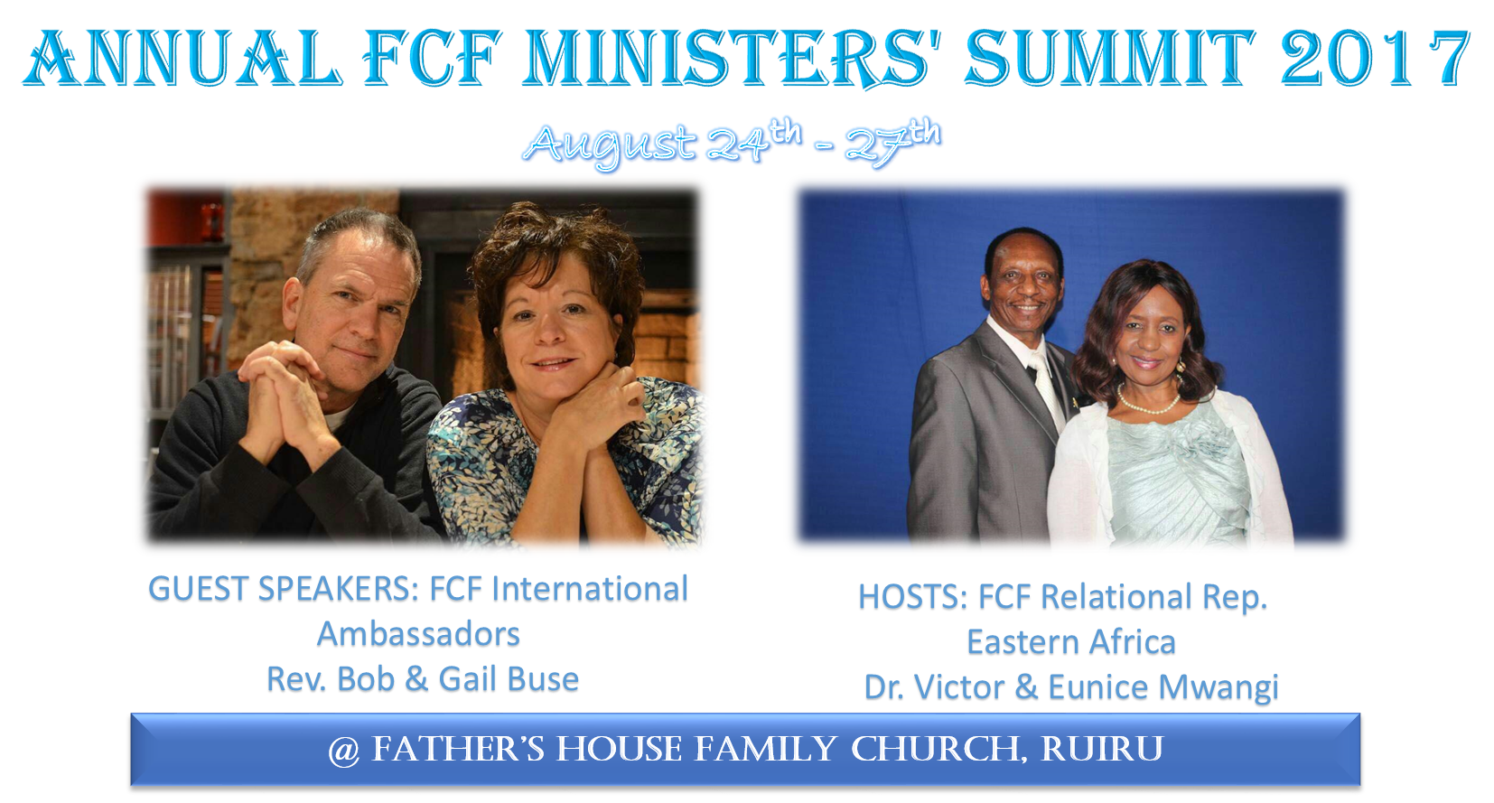 ANNUAL FCF MINISTERS' SUMMIT 2017